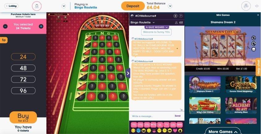 52-5 Bingo Games Hands- Pink Ribbon Bingo