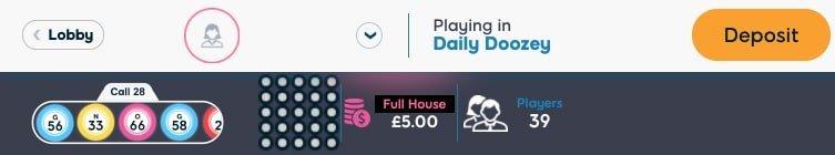 75 ball bingo payouts- Pink ribbon Bingo
