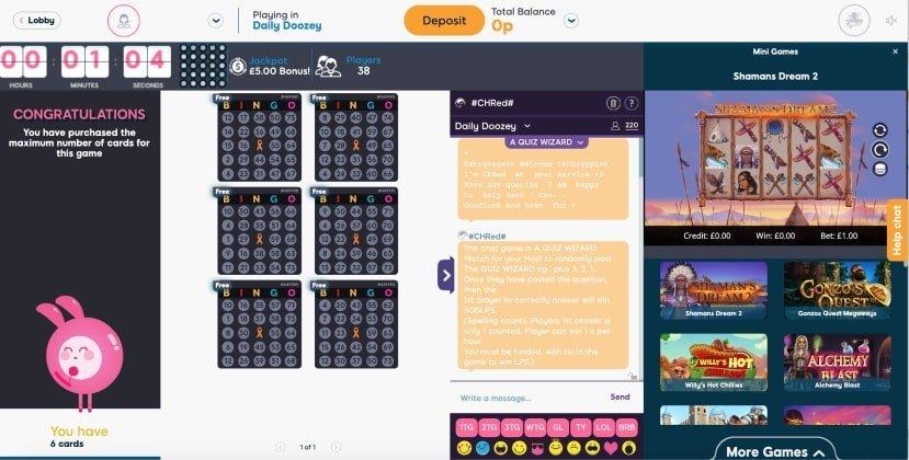 75 ball bingo  cards- Pink ribbon Bingo