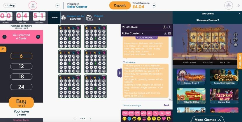 75 ball bingo overview - Pink Ribbon Bingo