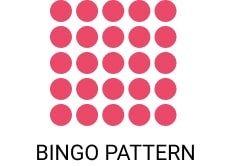 75 ball bingo pattern - Pink ribbon Bingo