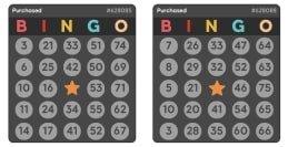 75 ball bingo cards - Pink ribbon Bingo