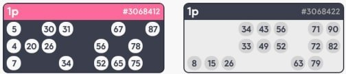 buying 90 ball bingo tickets- pink ribbon bingo
