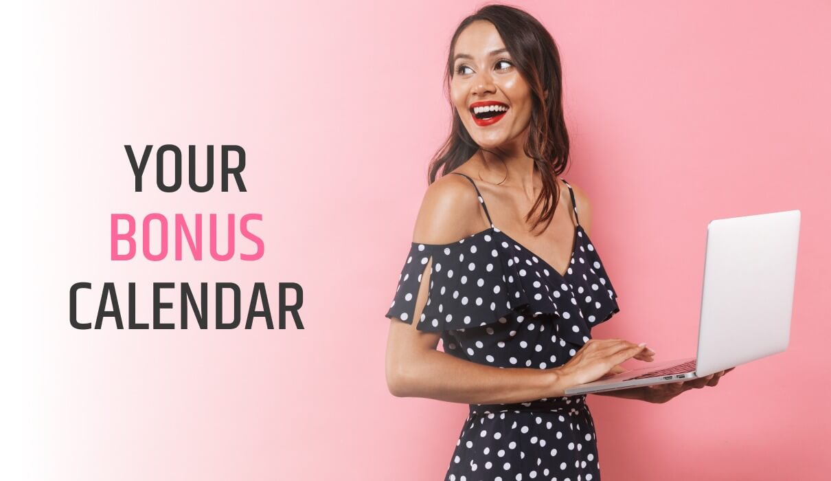 Why don't you have a look at our bonus calendar to see what bonus credit you can look forward to today. Use promo code respectively.